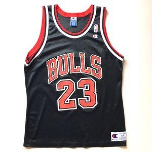 Champion Chicago Bulls Michael Jordan 23 Jersey